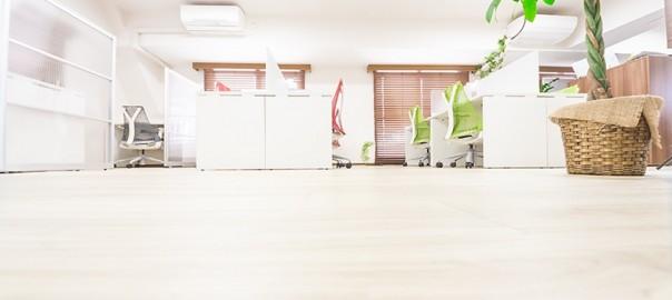 転職後のオフィスは静か