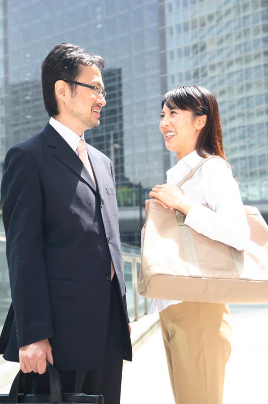 営業マンが株主総会のお土産をゲット