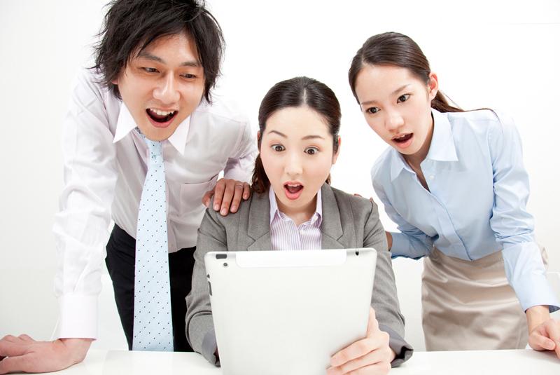 仕事に満足できている人は30%しかいない